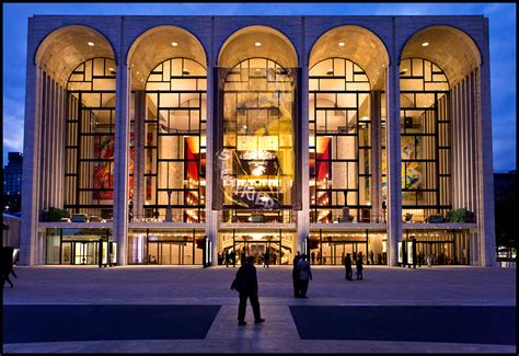 The Metropolitan Opera House | Part of the Lincoln Center