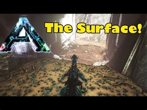 Ark Aberration: How To Get To The Surface! (All Three