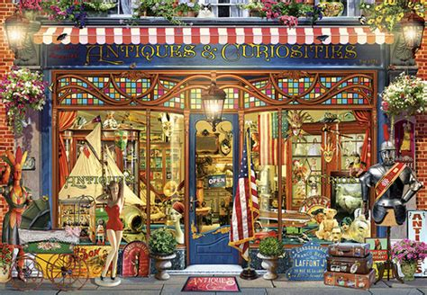Antique Curiosities - 2000pc Jigsaw Puzzle by Buffalo