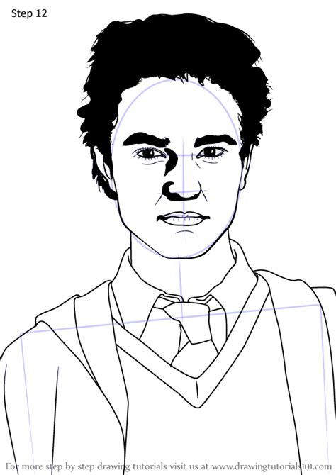 Learn How to Draw Cedric Diggory from Harry Potter (Harry