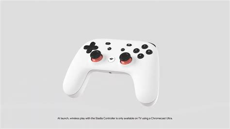 The Google Stadia Controller Won't Support Wireless Play