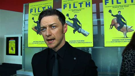 Filth World Premiere - James McAvoy Full Interview - YouTube