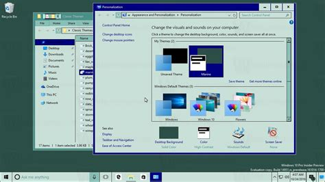 Download classic Windows themes for Windows 10