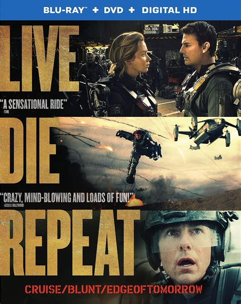 Edge of Tomorrow DVD Release Date October 7, 2014
