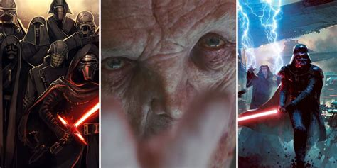 Star Wars: Things You Didn't Know About Snoke   ScreenRant