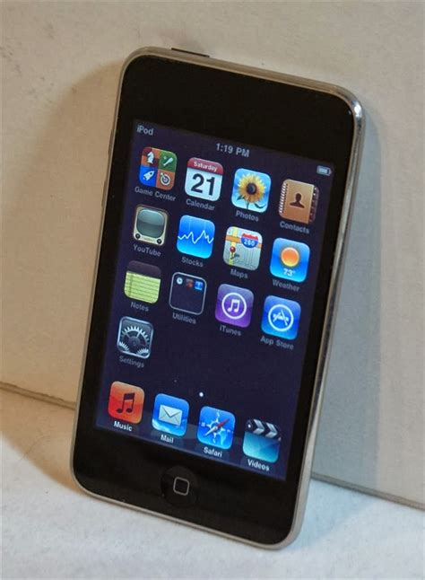 APPLE iPod TOUCH 32GB 2ND GENERATION MODEL A1288 ~ Gold