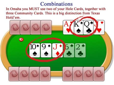 How To Play Omaha Poker - The Official Rules   PokerNewsOmaha