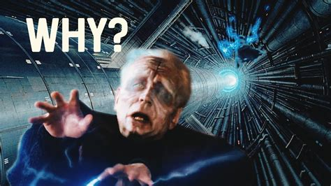 Why Did Emperor Palpatine EXPLODE!? (Darth Sidious) - YouTube