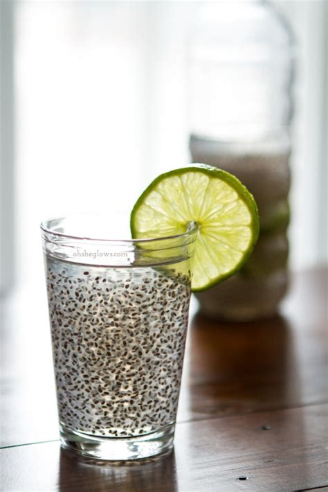 Chia Fresca: A Natural Energy Drink! – Oh She Glows