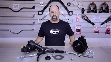 Borgeson Power Steering Conversion from Sacramento Mustang
